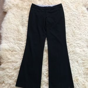 Maurice's black dress pants size 3/4